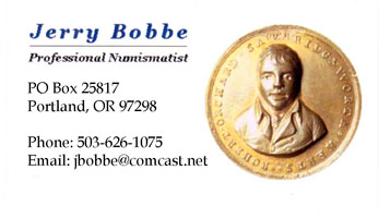 Jerry Bobbe business card