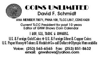 David Schmidt business card