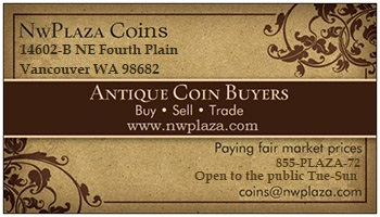 NwPlaza Coins business card