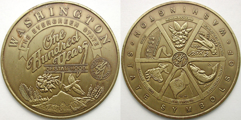 Washington State Centennial Medal