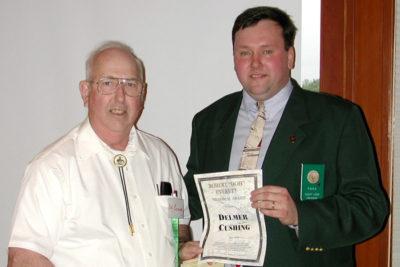 Del Cushing - Everett Award (2002)