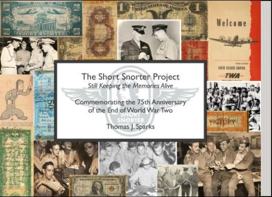 The Short Snorter Project World War II book cover.